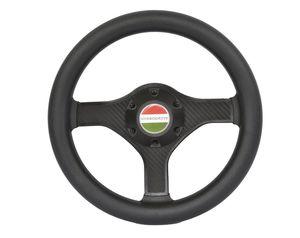 carbon power boat steering wheel