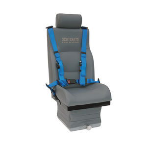 operator seat / for boats / high-back / adjustable