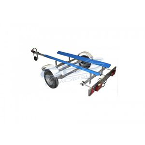 road trailer / for boats / pad