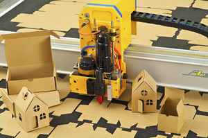CNC cutting table / vacuum / shipyard
