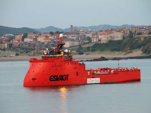 stand-by offshore support vessel