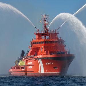 pollution control multi-purpose vessel