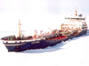 chemical tanker cargo ship / ice-class