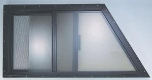 trapezoidal window
