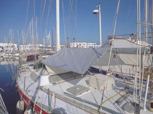 sailboat sun awning