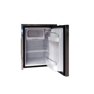 boat refrigerator / built-in / compressor / stainless steel