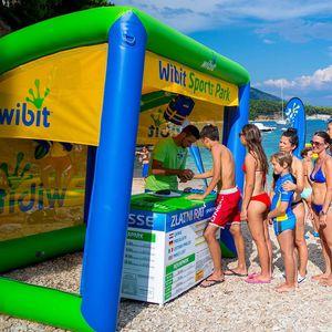 sun shade water toy