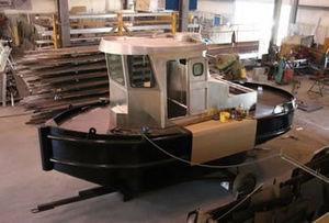 push tug professional boat / inboard / diesel
