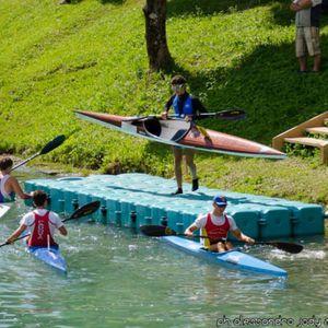 floating dock / mooring / canoe/kayak / plastic