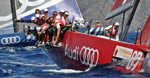 racing sailing yacht
