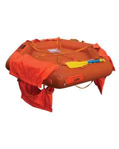 boat liferaft / coastal / 2-person / throw-overboard