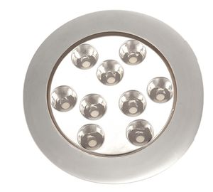 underwater boat light / RGBW LED / surface-mount / multi-color