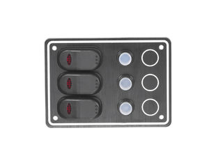 boat switch panel / waterproof / current