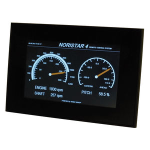 boat display / for ships / multi-function / touch screen