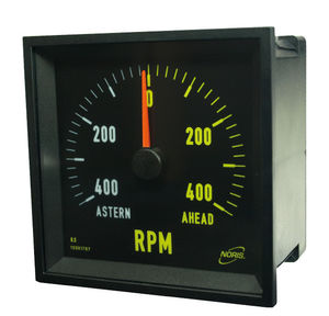 boat indicator / for ships / multi-function / analog