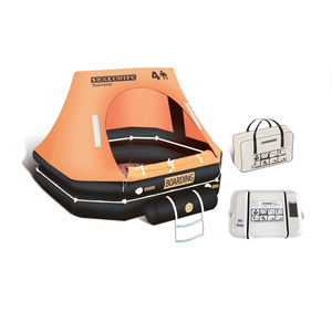 boat liferaft / for yachts / 6-person / 4-person