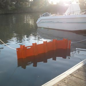 pollution control boom / floating / intertidal
