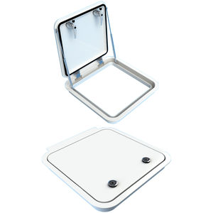 ship deck hatch / for yachts / square / flush