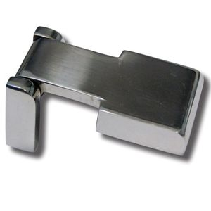 boat hinge / T / deck hatch / polished stainless steel