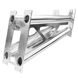boat engine bracket / stainless steel