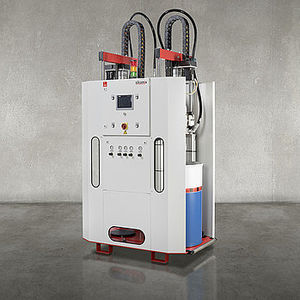 resin metering - mixing unit