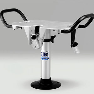 boat fighting chair / with armrests / aluminum