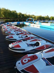 recreation center water go-kart