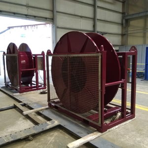 ship winch / shipyard / electric drive / single-drum