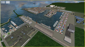 safety level test software / for ships / for harbors / ISPS