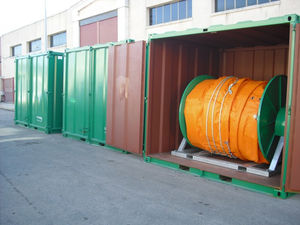 containerized furler / anti-pollution boom