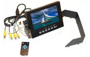 waterproof marine LCD TV display