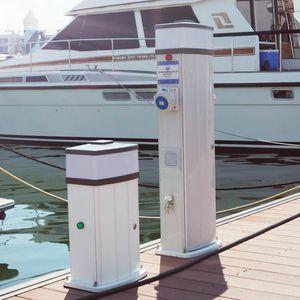 electrical distribution pedestal