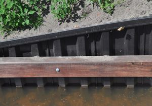 recycled synthetic sheet pile