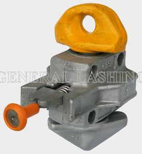 semi-automatic container lashing twist lock