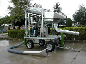 vacuum fish pump / for aquaculture / transfer / water