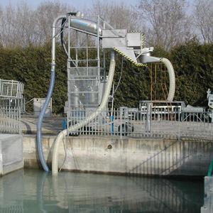 vacuum fish pump / for aquaculture / transfer / electric
