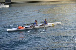 racing rowing boat / double scull