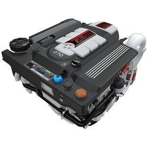 stern-drive engine / diesel / boating / turbocharged