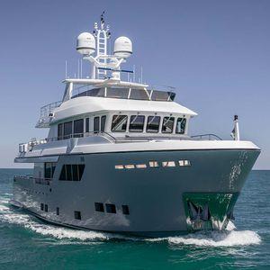 cruising super-yacht / raised pilothouse / 5-cabin