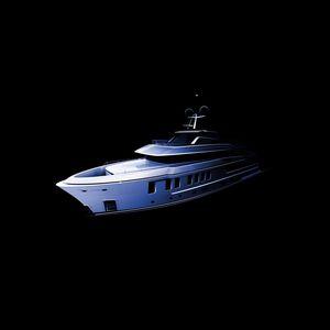 cruising super-yacht / explorer / raised pilothouse / custom