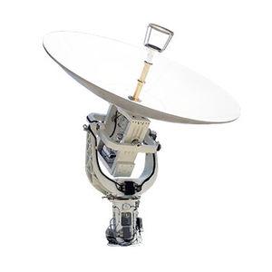 VSAT antenna / C-band / for ships / parabolic