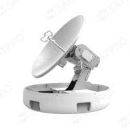 VSAT antenna / Ka-band / for ships / radome