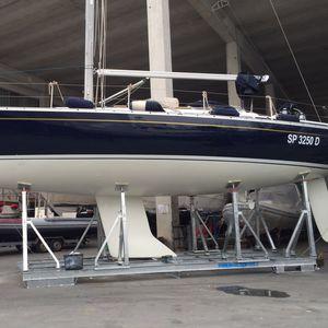 sailboat cradles / adjustable