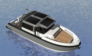 electro solar express cruiser / hybrid / downeast / 12-person max.