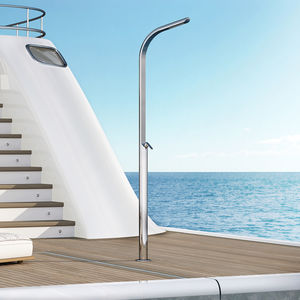 yacht shower / boat deck / stainless steel / for docks