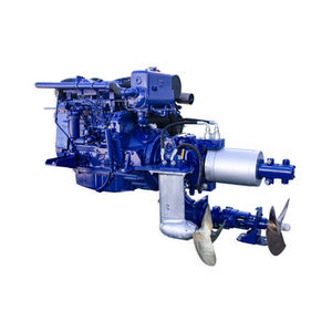 ship propulsion system / for boats / diesel-electric hybrid