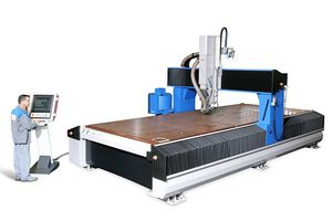 CNC machining center / 4-axis / 5-axis / 3-axis