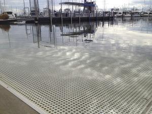 aluminum dock decking