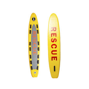 rescue stand-up paddle-board / inflatable / PVC
