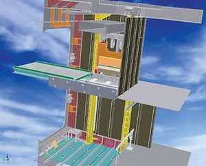 ship freight elevator